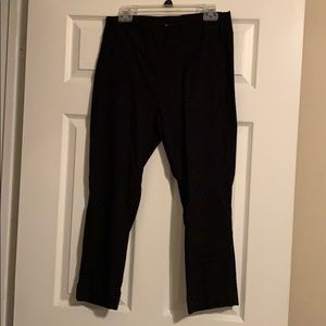 Black Ankle Dress Pants/New York and Company